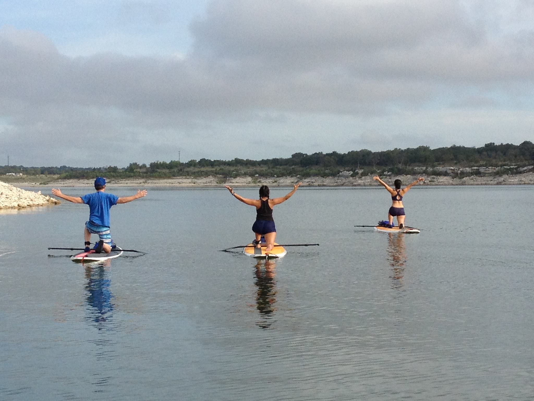 SUP Yoga for 40th Birthday
