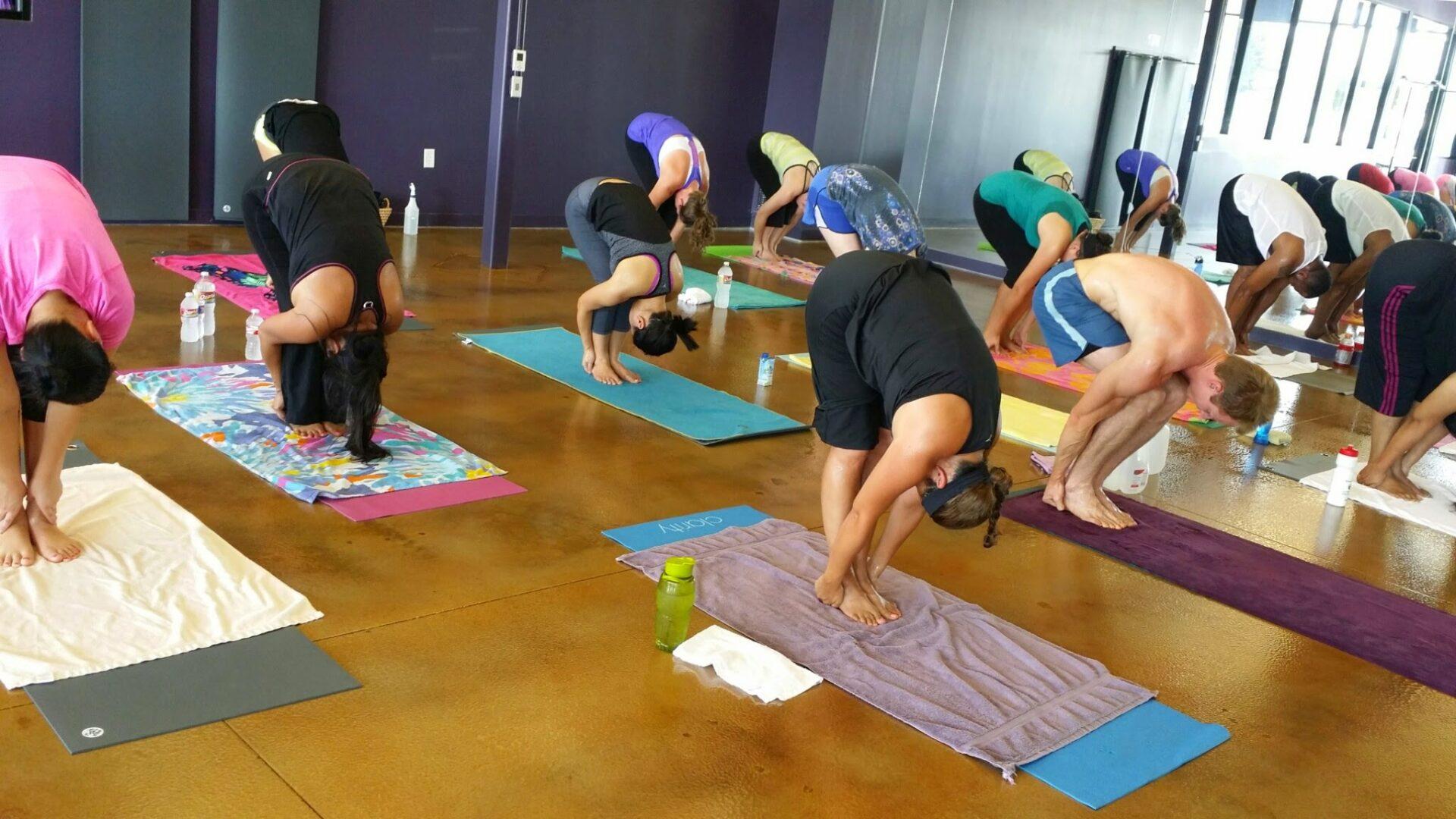 Yoga Class at Lone Star Hot Yoga