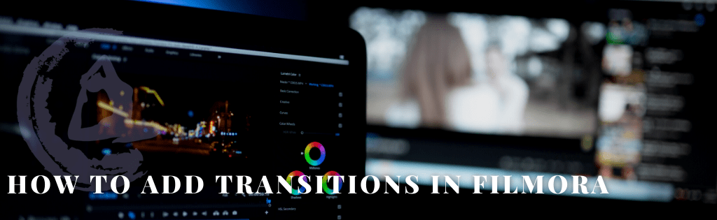 How to Add Transitions in Filmora by Santosha Solutions